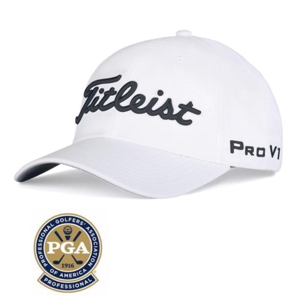 Titleist PGA Exclusive Tour Patch Golf Cap